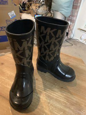 Toddler sz 5 Michael Kors rain boots for Sale in Arlington, TX