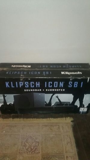 Klipsch soundbar and subwoofer for Sale in Palmdale, CA