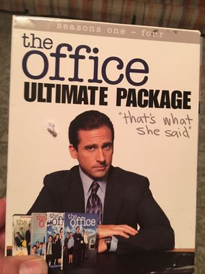 The Office Ultimate Package Seasons 1-4 (DVD) for Sale in Fairfax, VA