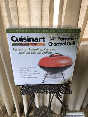 Charcoal Grill. Great for tailgating, camping etc. Brand New for Sale in Dearborn, MI