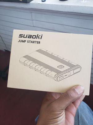 Suaoki Jump starter U3 (jumps vehicles, phones etc) for Sale in Vallejo, CA