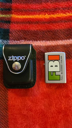 ZIPPO Authentic Lighter and Case NEW for Sale in Lynnfield, MA