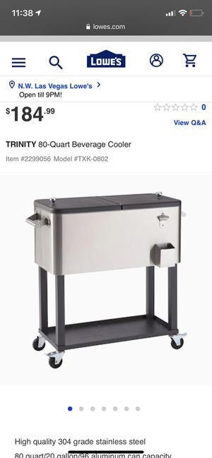 80-Quart beverage cooler for Sale in North Las Vegas, NV