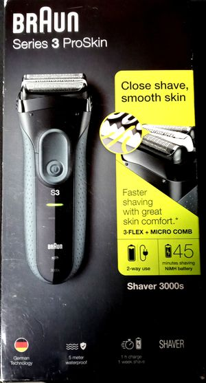 Braun Series 3 Proskin Shaver for Sale in Raleigh, NC