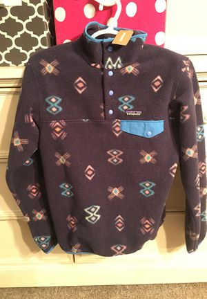 Brand new Patagonia Synchilla fleece size Small for Sale in Salt Lake City, UT