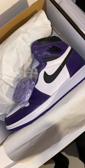 "Jordan 1 ""Court Purple 2.0"" for Sale in New Britain, CT"