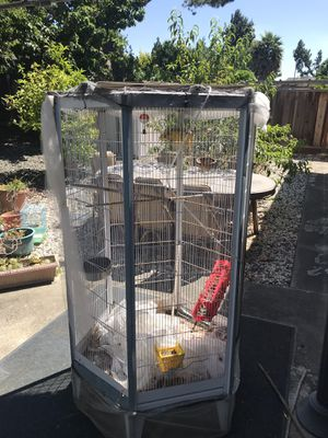 Birds cage 180 cm hight and 70 cm for Sale in Fremont, CA