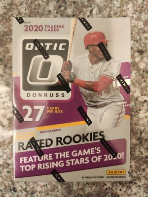 2020 Factory Sealed Panini Optic Baseball Cards for Sale in Glendora, CA