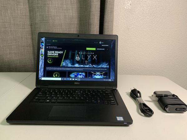 Dell Laptop i7 with Nvidia Graphics