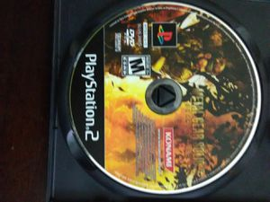 PS 2 MGS 3 game for Sale in Washington, DC