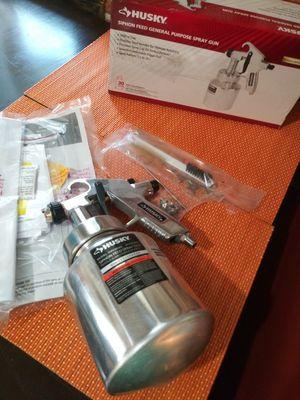 Husky Siphon Feed General Purpose Spray Gun for Sale in Rialto, CA