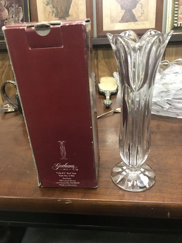 Gotham crystal vase