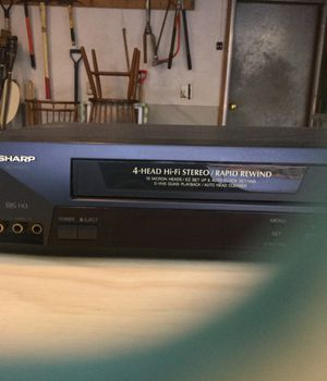 Sharp VHS tape player for Sale in Sudbury, MA