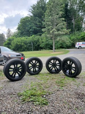 """17"""" Black Rims and Tires for Sale in Brooktondale, NY"""