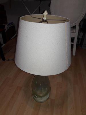 Coastal blown glass lamp for Sale in Pembroke Pines, FL