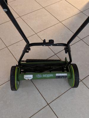 Sun Joe 16 inch reel mower for Sale in Tampa, FL