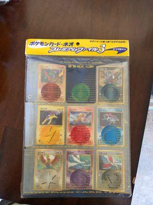 Factory sealed Japanese Pokémon cards for Sale in Mason, MI