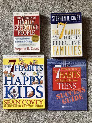 7 Habits book series for Sale in Lorton, VA