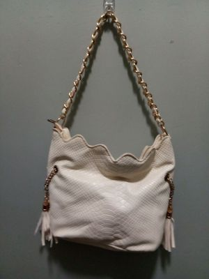 Snake skin cream colored purse for Sale in NC, US