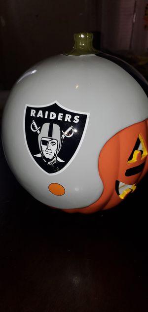 Las Vegas Raiders pumpkin 🎃 for Sale in Los Angeles, CA