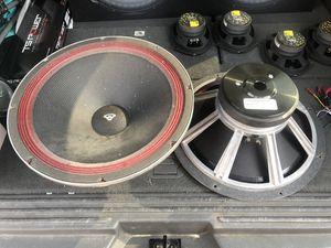 "CERWIN VEGA GW26 15"" DJ/PA SPEAKERS for Sale in Anaheim, CA"