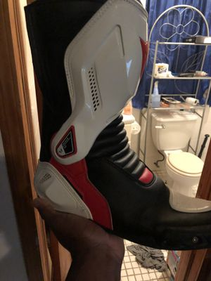 Dainese motorcycle boots Leather size 10 US for Sale for sale  Queens, NY