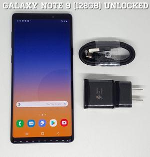 Galaxy Note 9 (128GB) Factory-UNLOCKED + Accessories for Sale in Arlington, VA