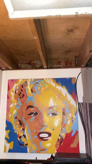 Marilyn Monroe on Canvas for Sale in Riverton, UT