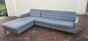 Couch with lounge chair section for Sale in Edmonds, WA