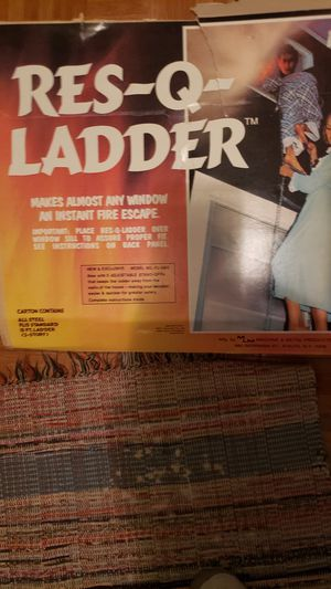 Rescue ladder for Sale in Appleton, WI