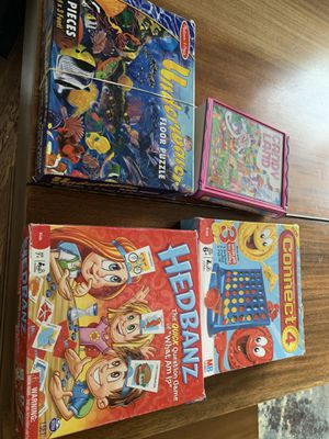Kids games: Headbanz, Connect 4, Candy land Melissa & Doug puzzle for Sale in Rolling Meadows, IL