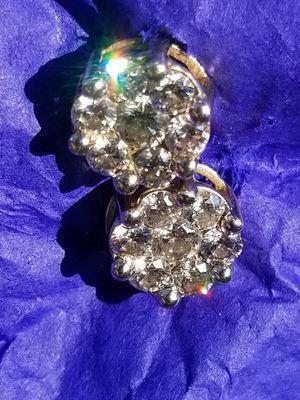 Diamond earrings for Sale in TEMPLE TERR, FL