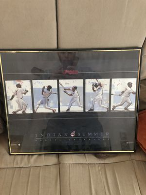 Cleveland Indians picture for Sale in Berea, OH