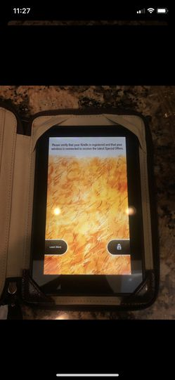 Kindle fire with coach designer case for Sale in Hudson,  FL