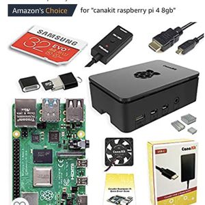 Canakit Raspberry Pi 4 Kit 8gb w/ 32GB Micro SD Card for Sale in Tustin, CA