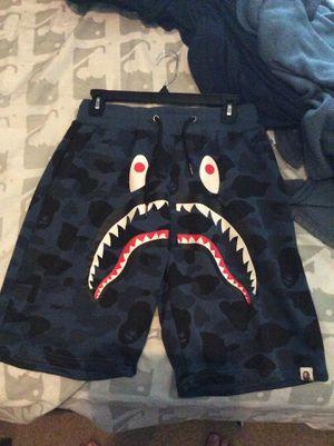 Blue Bape shorts for Sale in San Antonio, TX