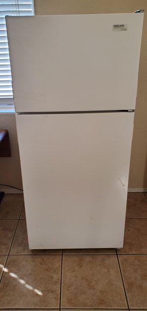 Refrigerator freezer fridge garage fridge beer fridge storage fridge Kirkland signature by whirlpool priced to sell for Sale in Phoenix, AZ