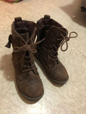 Girls boots & shoes size 13/1. Vans size 3 for Sale in Springfield, MA