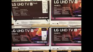 LG 50 inch 4K TV smart with warranty for Sale in Los Angeles, CA