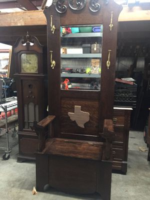 American hall tree for Sale in Houston, TX