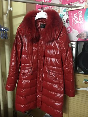 Used down jacket medium size red for Sale for sale  Brooklyn, NY