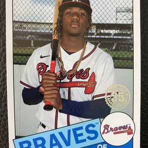 Ronald Acuna Jr 2020 Topps 1985-2020 35th Anniversary #85TB-7 Card!! BRAVES!!Nice for Sale in Lakehurst, NJ