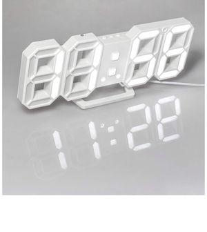 3D Digital Alarm Clock Wall Clock for Sale in Fort Lauderdale, FL