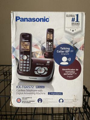 Panasonic 2 Handset Home Phones OBO for Sale in El Cajon, CA