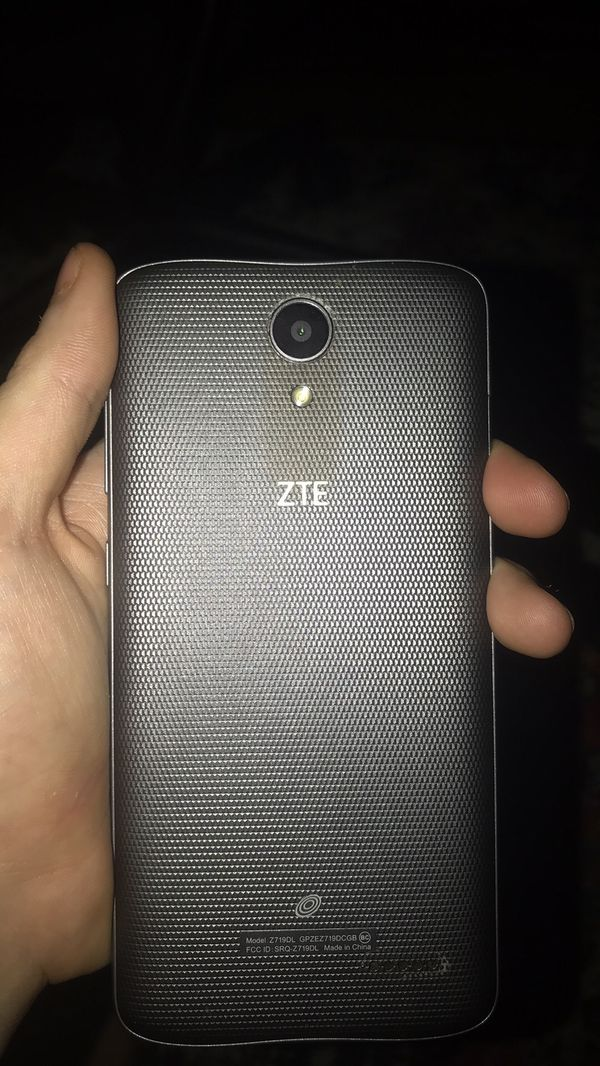 zte max one unlocked and new