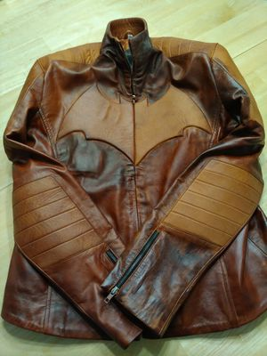 Brand New Brown Batman Leather Jacket for Sale in Las Vegas, NV