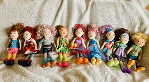 Groovy Girls Dolls - Lot of 9 Dolls for Sale in Naperville, IL
