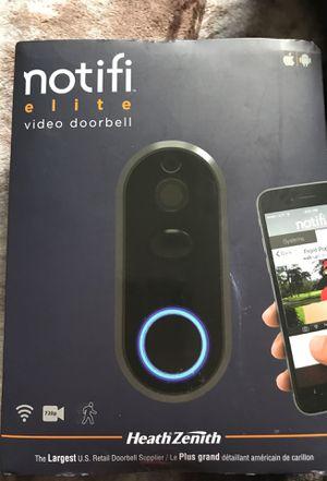 notifi elite video doorbell for Sale in Industry, CA