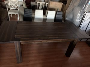 Brand New Solid Wood Extendable Dining Table for Sale in Virginia Beach, VA