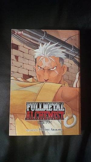 Fullmetal Alchemist manga volumes 4-6 for Sale in Belmont, MA